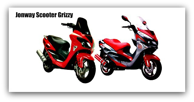 Jonway Scooter Grizzy