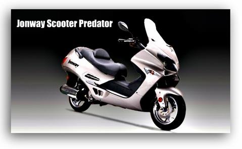 Jonway Scooter Predator
