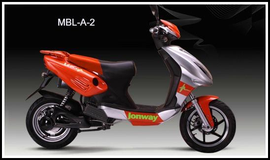 Jonway Electric Bike Export Series MBL-A-2