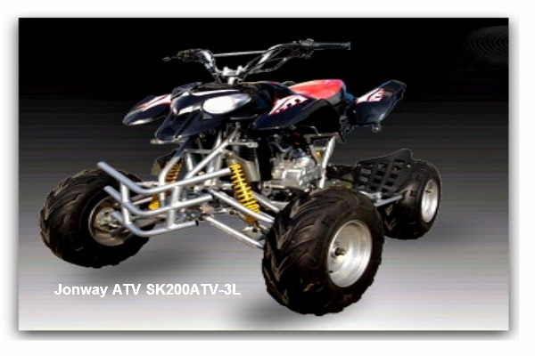 Jonway ATV SK200ATV-3L