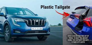 Mahindra XUV700 Has A Plastic Tailgate!