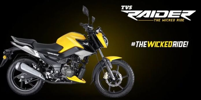 TVS Raider Launched At Rs 77,500