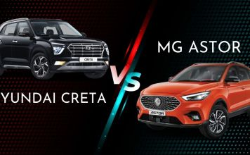 MG Astor vs Hyundai Creta