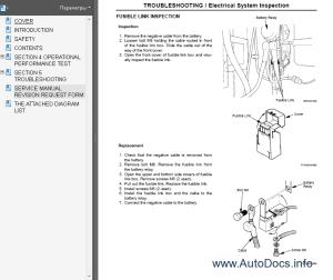 Hitachi ZAXIS 3303 Workshop service and repair manual