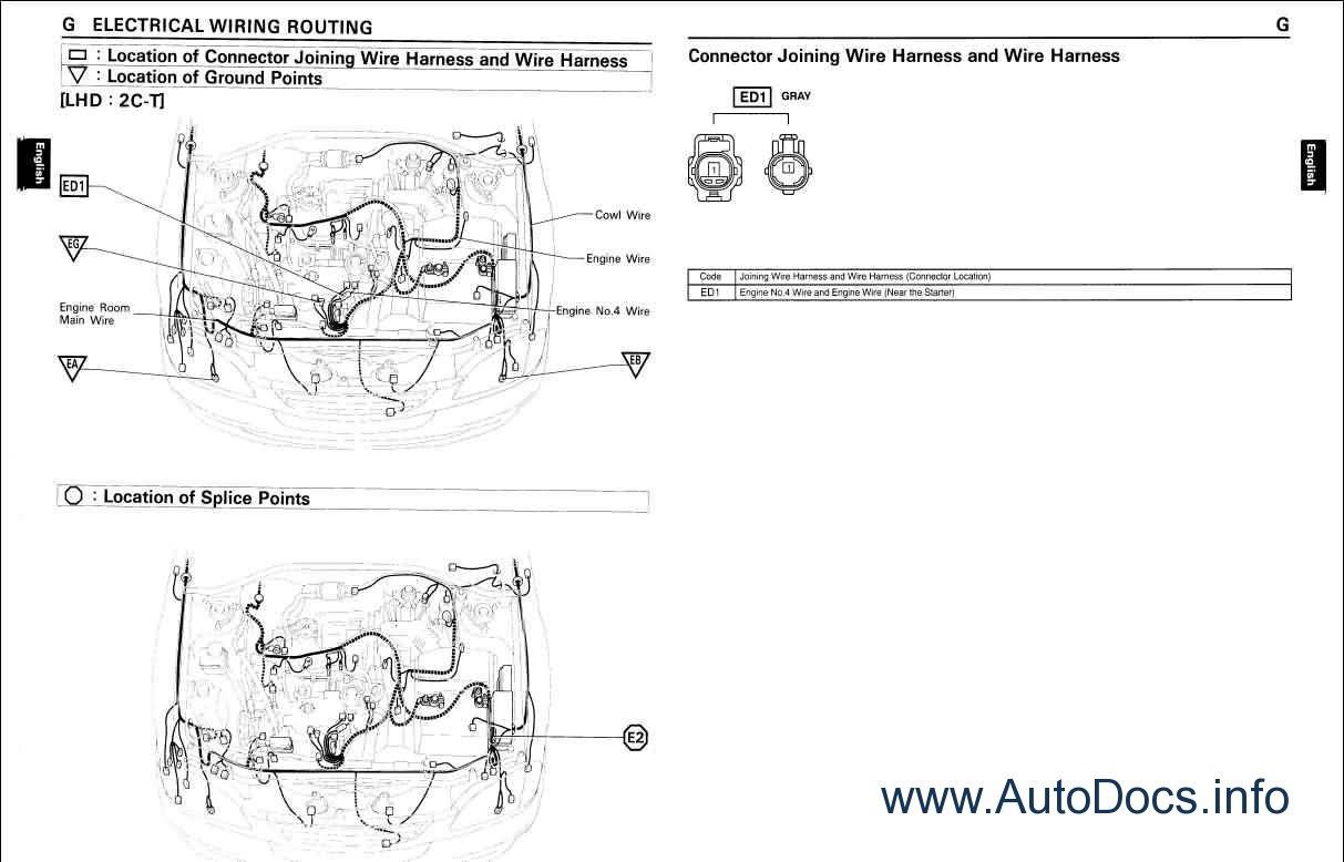 Toyota Camry Wiring Diagram Repair Manual Order Amp Download