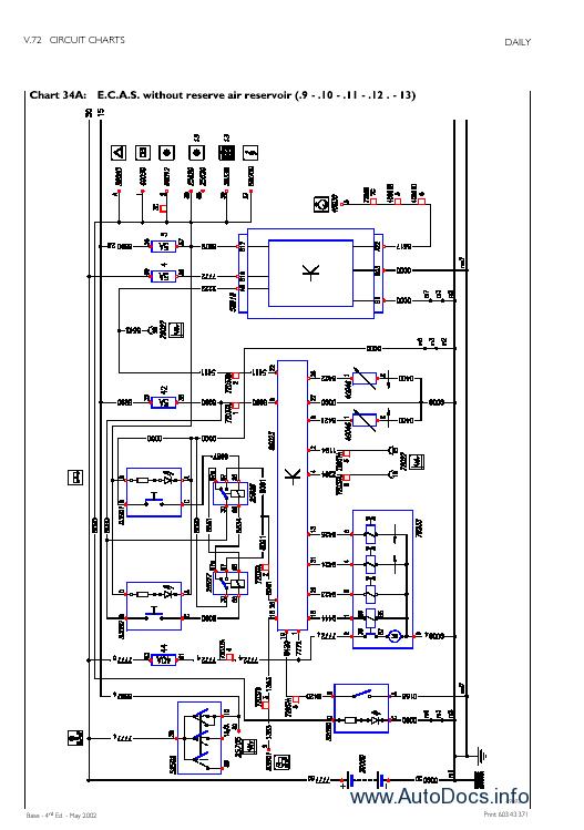 iveco daily diagram repair manuals wiring diagrams  t800