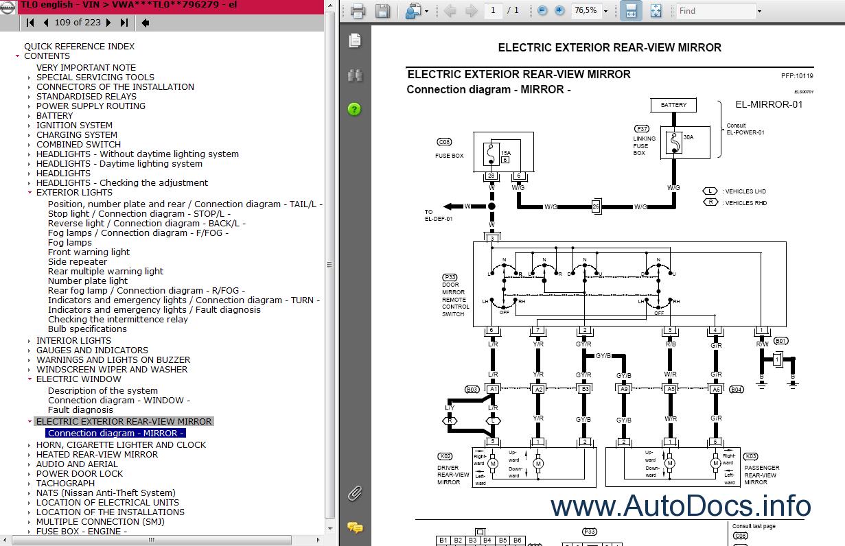 Nissan Cabstar Tl0 Series Service Manual Repair Manual