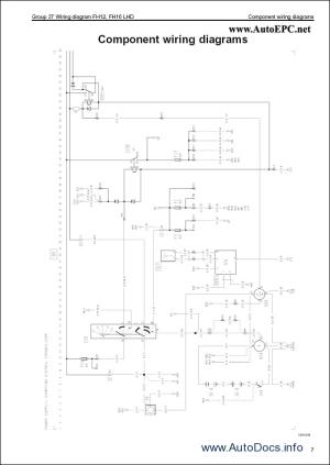 Volvo FM, FH, NH12 Wiring Diagram repair manual Order & Download