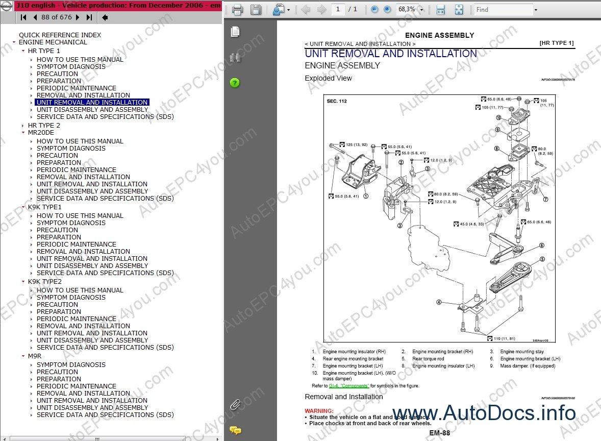 Nissan Qashqai And Qashqai 2 Repair Manual Repair Manual
