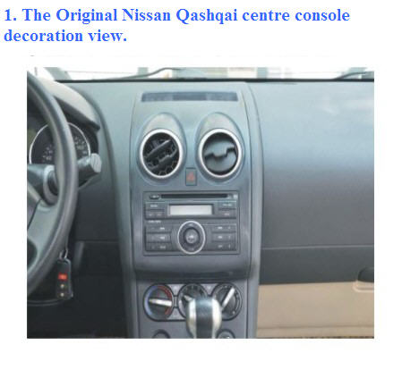 Nissan Qashqai Stereo Replacement