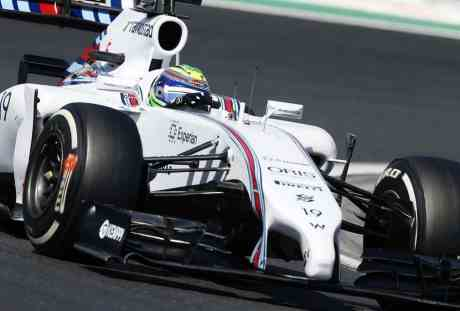 Massa apostou na cautela, andou em segundo e terminou em quinto, mas falou o que não precisava (Foto Williams Grand Prix)