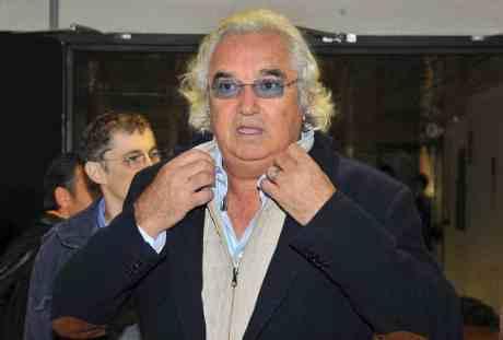 Flávio Briatore se ajeitou para voltar, sem sucesso (Foto NomadSleepOut)