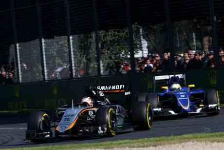 Nico Hulkenberg lidera o ataque da Force India (Foto Sahra Force India)