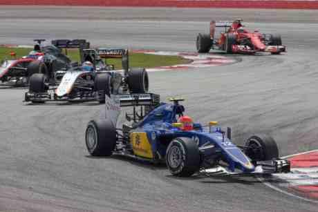 Nasr não contou com um carro competitivo em Sepang (foto Sauber)