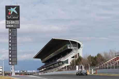 Barcelona, local dos testes da maioria das equipes (Foto Sahara Force India)