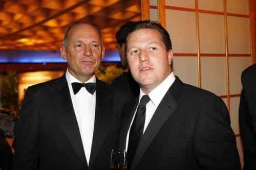 Zak Brown, ao lado de Ron Dennis (Foto zakbrown.com)