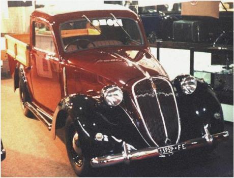 Foto Legenda 04 coluna 2115 - Fiat  1100 picape  1939..
