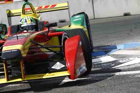 Lucas Di Grassi é vice-líder do campeonato e é o mais sério rial de Piquet Jr (foto LAT/Formula E)