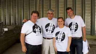 André Dantas, Bob Sharp, Nora Gonzalez,e Paulo Kelleri - foto: Márcio Salvo
