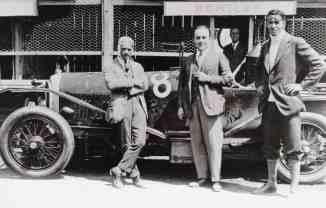 W.O. Bentley e a dupla vencedora