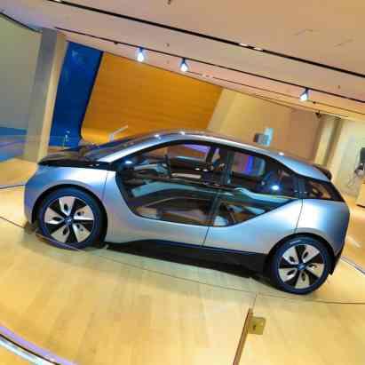 Showroom BMW i, Ainda como conceito