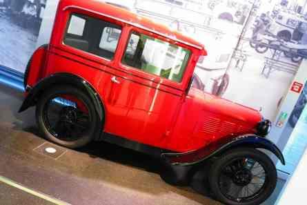 BMW 3/15 Dixi, Austin Seven fabricado sob licença