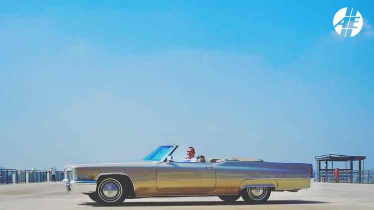 Cadillac De Ville 1970 do leitor e amigo Douglas Loiola