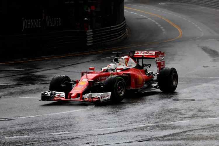O entusiasmo e rendimento que Vettel mostrou em 2015 parece ir por água abaixo (foto Ferrari)
