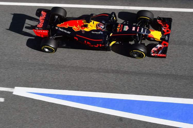 O carro 26 agoora vai usar o numeral 33.... (Foto Red Bull/Getty Images)