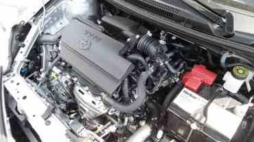 O motor 1,5-L atualizado, 102/107 cv