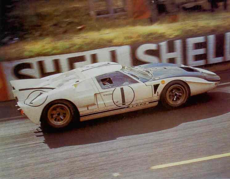 Testes de aerodinâmica em Le Mans em 1965 [viaretro.de]
