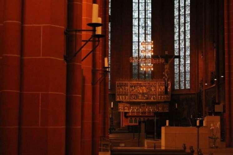Interior da igreja de São Paulo