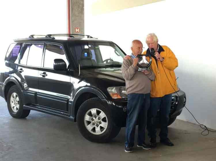 Jan Balder (à direita) no momento do Briefing e da homenagem ao grande Bird Clemente, que nomeou essa etapa (foto: autor)