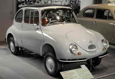 Modelo foi fabricado entre 1958 e 1971 (Foto Subaru)