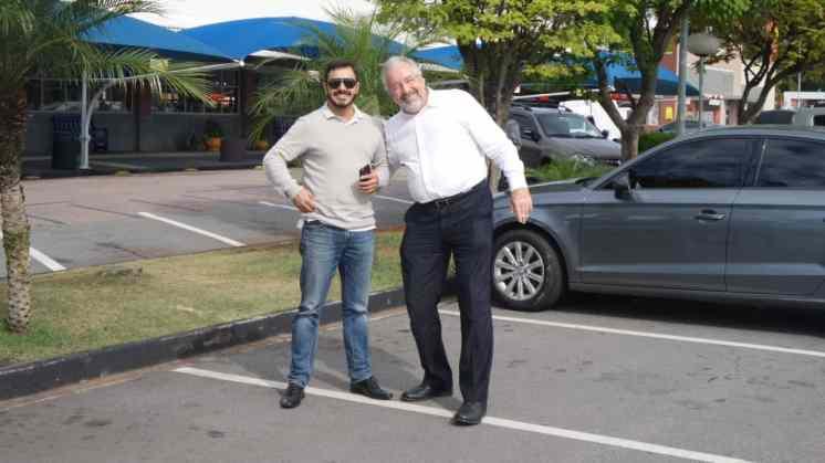 Diogo de Oliveira e Lothar Werninghaus