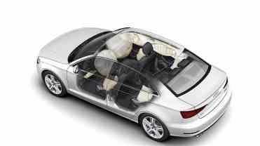 A proteção das bolsas infláveis em caso de acidente