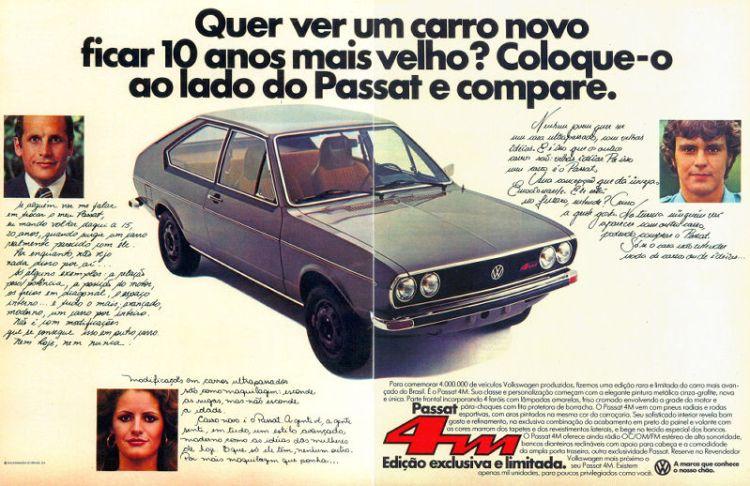 Anúncio de dezembro de 1977 - Revista Manchete