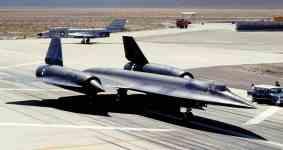 A-12 tem área do nariz diferente do SR-71