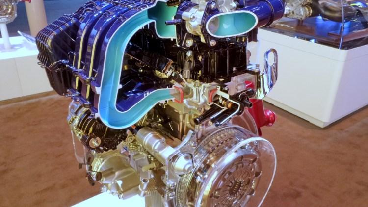 O novo 1-litro 3-cilindros