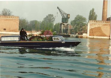 Cortejo fúnebre em Veneza