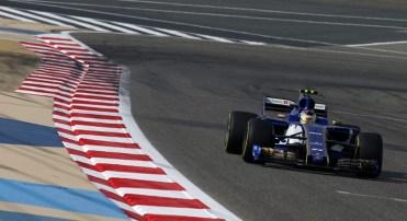 Pascal Wehrlein, destaque da corrida, foi o único piloto a usar apenas dois jogos de pneus durante a prova (Sauber)