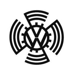 Logo inicial do KdF, completo, como desenhado por Reimspiess