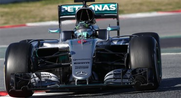 O bico usado nas quatro primeiras provas deste ano (Mercedes)