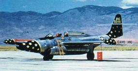 Um Scorpion da Guarda Aérea Nacional de Idaho