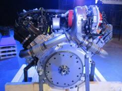Um turbo para as duas bancadas, como se vê na tubulação