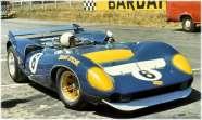 Mark Donohue no Mk III em 1967 (pinterest)