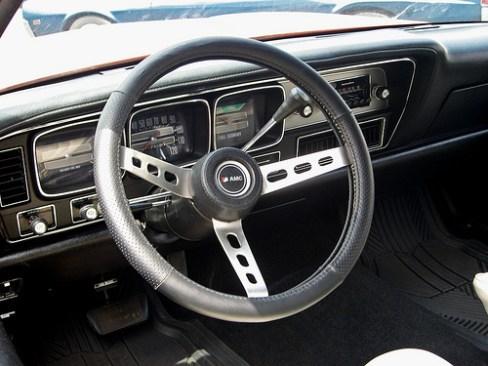 Matador X de 1974, interior simples