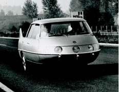 Batista Farina dirigiu bastante o carro. Imagine isso nas ruas!
