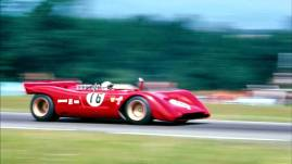 Ferrari 612 P na pista