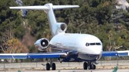 Um outro 727 executivo, mas este remotorizado com motores JT8D-219 (motores 1 e 3) e hush-kit no motor central. Observe o diametro maior das turbinas laterais em relação ao Boeing de Donald Trump (youtube.com)